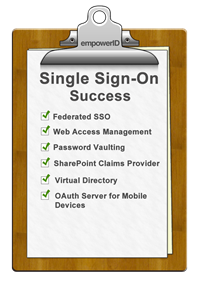 Web and cloud single sign on